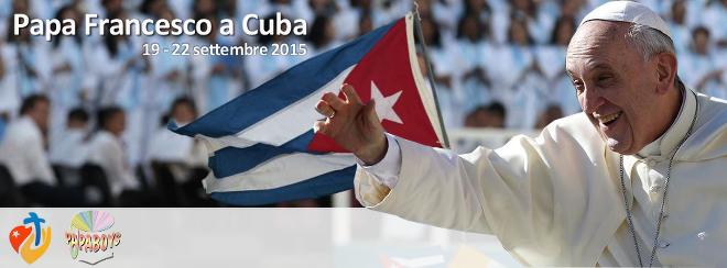 Papa Francesco a Cuba: Cerimonia Aeroporto di Santiago - Martedì 22 settembre h.18:15 LIVE WEB-TV