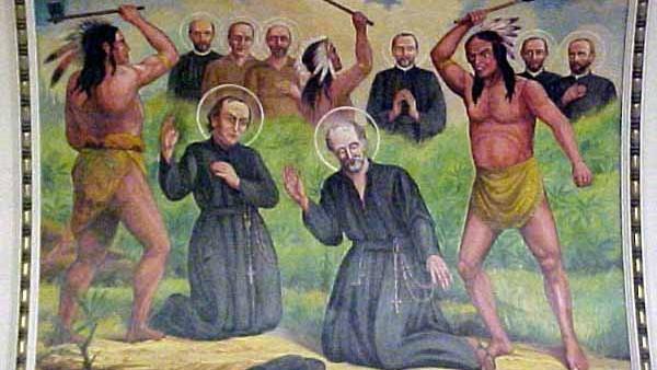 I Santi di oggi – 19 ottobre – Santi Martiri Canadesi
