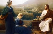 Vangelo (10 Ottobre) Marta lo ospitò. Maria ha scelto la parte migliore