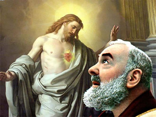 Famoso Se scopri come Padre Pio celebrava la S. Messa, capirai facilmente  ZH35