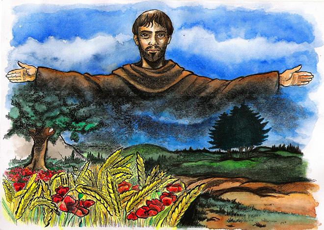 La pensiamo come San Francesco d'Assisi: di cosa aver paura? Di ...