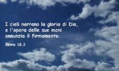 I cieli narrano la gloria di Dio – Preghiamo con i Salmi –