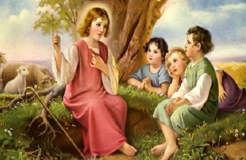 Gesù preghiera del mattino