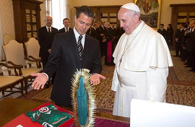 Bergoglio-e-Pena-Nieto-7-6-2014
