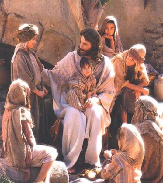 Jesus+children