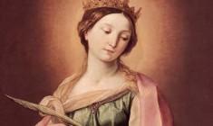 I Santi di oggi – 25 Novembre Santa Caterina d'Alessandria (Martire)