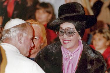 L'incontro con giovanni Paolo II
