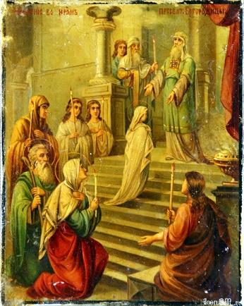 21 novembre - Festa della Presentazione della Beata Vergine Maria