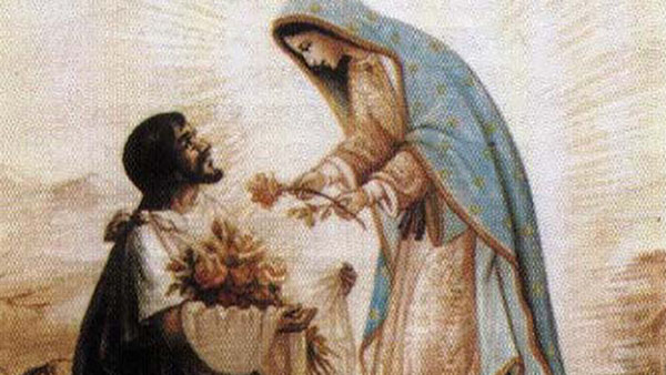 I Santi di oggi – 9 Dicembre  San Juan Diego Cuauhtlatoatzin, veggente di Guadalupe