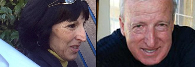 WCENTER 0XPMBATDAJ Luigino D'Angelo e la moglie ANSA/DOMENICO PALESSE
