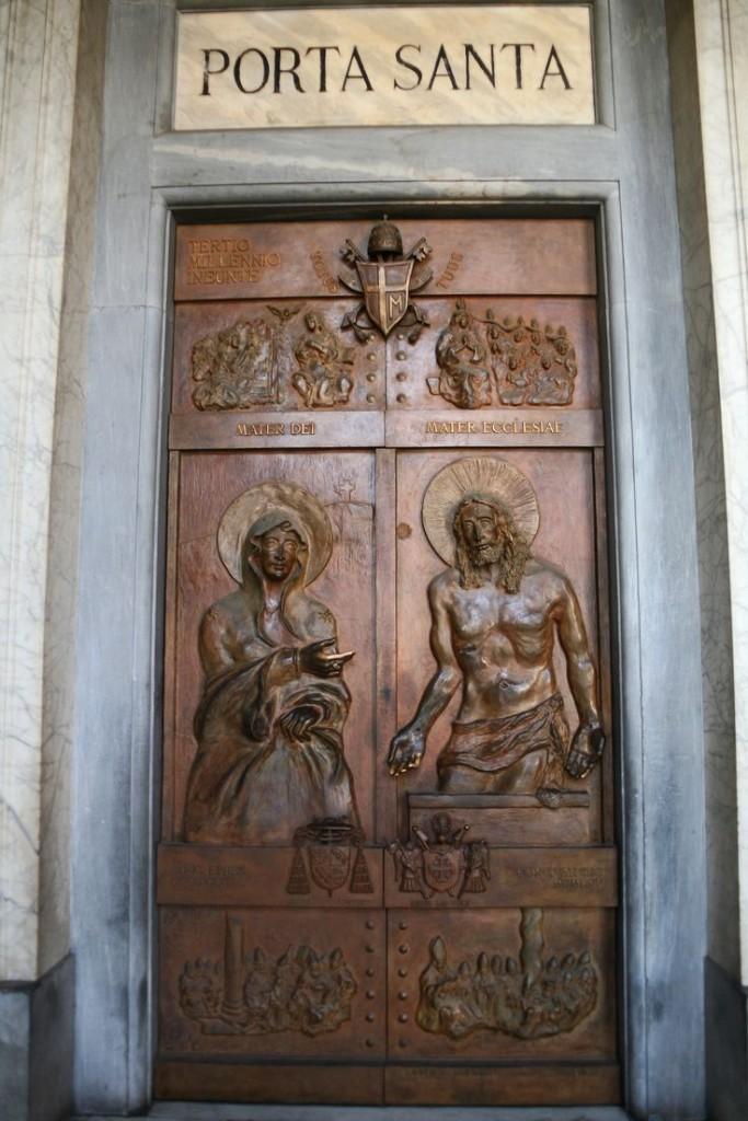 La Porta Santa aperta da Francesco a Santa Maria Maggiore