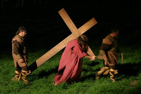 Una Via Crucis animata a Tolentino, nella Marche