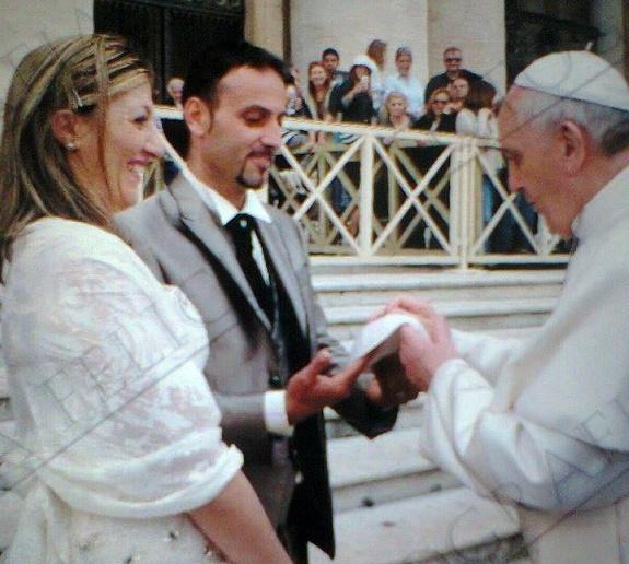 Il primo incontro con Papa Francesco