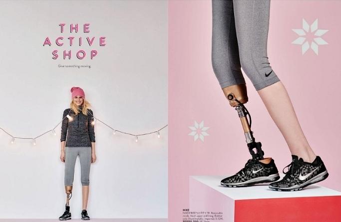 Le amputarono una gamba dopo un'infezione causata da un assorbente Lauren è tornata a sfilare - Photogallery - Rai News_20160224175440
