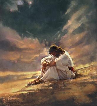 Risultati immagini per Gesù nel deserto