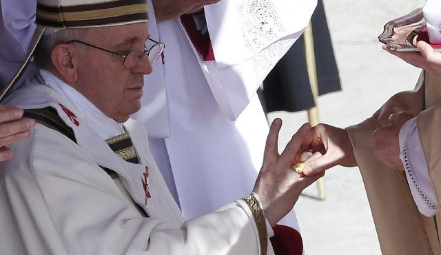 Papa FRancesco 19 marzo 2013