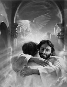 Gesù abbraccio