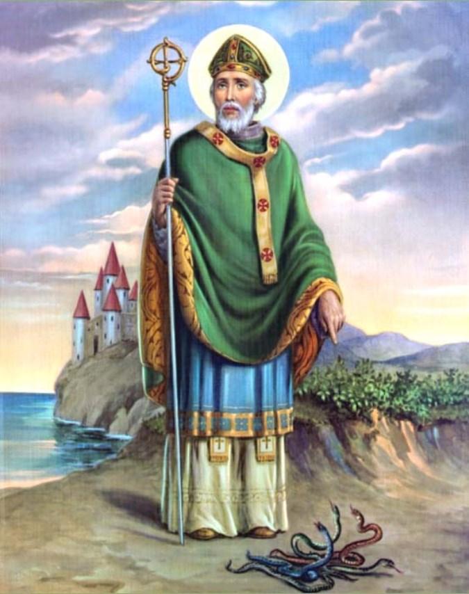 San Patrizio e i serpenti