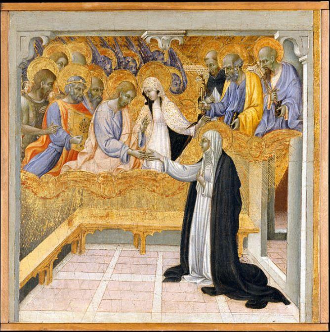 Giovanni-di-Paolo-Matrimonio-mistico-di-Santa-Caterina