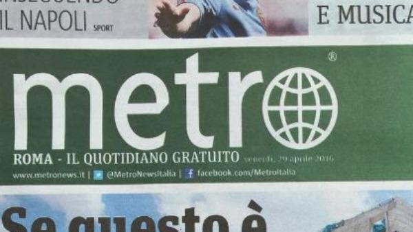 Metro – Papa Francesco e le briciole