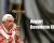 Benedetto XVI nel 65° di ordinazione sacerdotale, oggi in Sala Clementina con Papa Francesco!