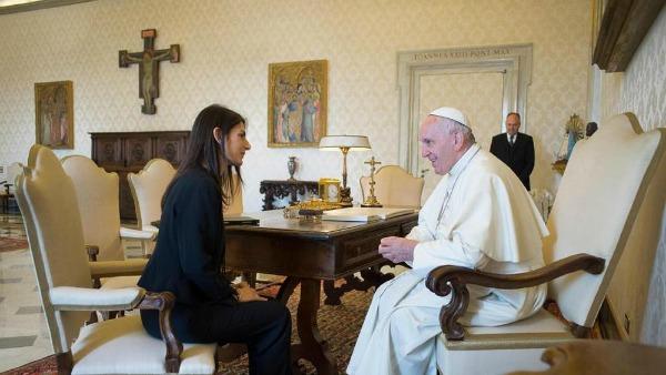 Raggi dal Papa: se il Campidoglio ben vale una Messa
