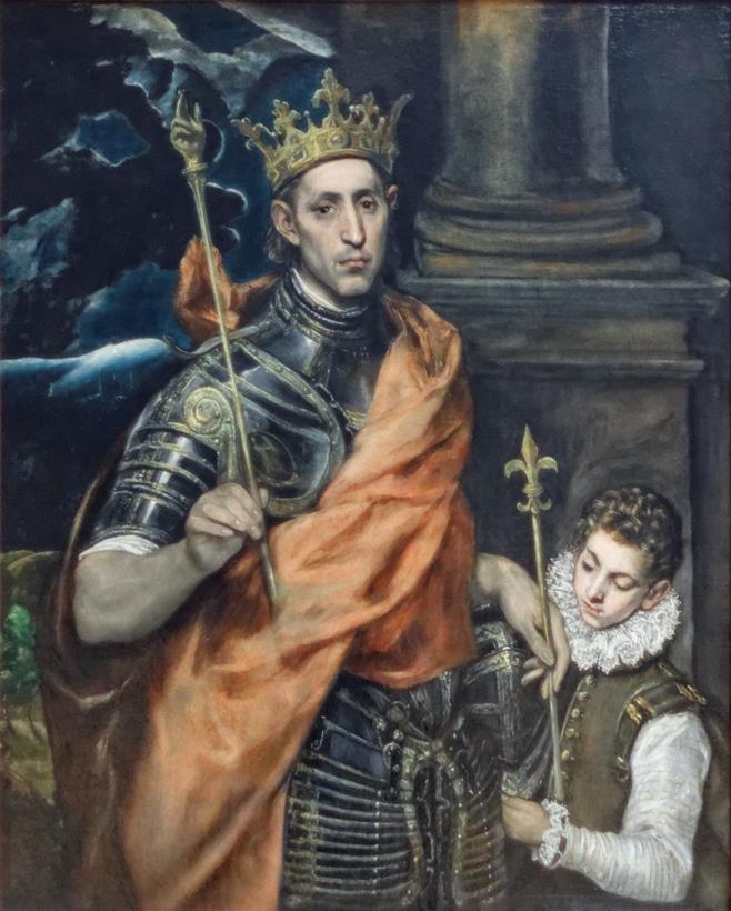 El_Greco_-_Saint_Louis_roi_de_France_et_un_page_02