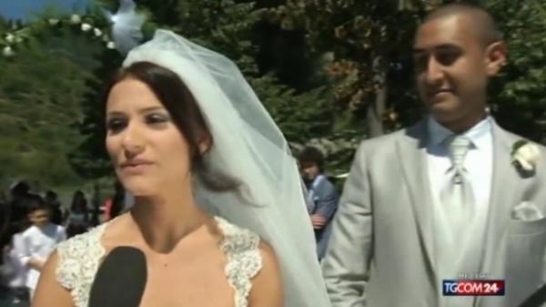Il terremoto non li ferma, Martina e Ramon si sposano all'aperto