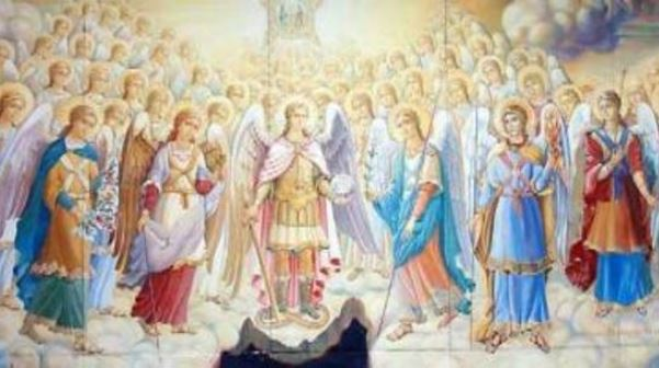 angeli preghiera del rosario