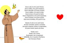 La 'Preghiera semplice' di San Francesco. Recitala ed avrai la vera pace nel tuo cuore