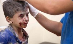 Ad Aleppo la struggente preghiera dei bambini per implorare la fine delle stragi