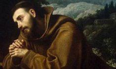 Novena a San Francesco d'Assisi: 1° Giorno – Ubbidienza pronta alla volontà di Dio