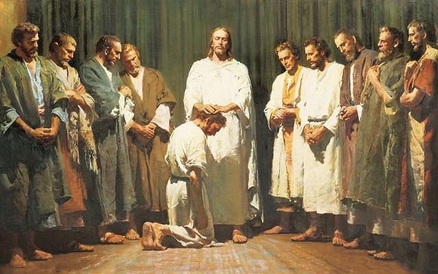 Gesù sceglie i 12 apostoli