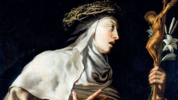 5 pensieri della mistica Santa Teresa d'Avila