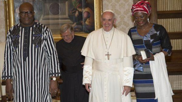 Ricostruire la pace e l'unità nazionale in Burkina Faso. L'invito di Papa Francesco al Presidente