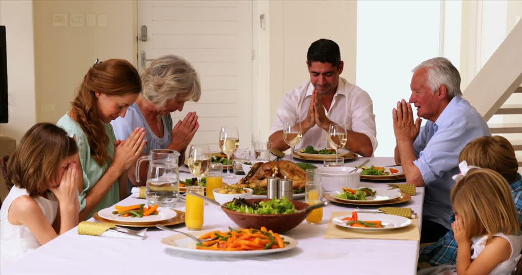 Preghiera cibo