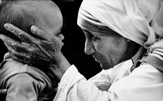 A Tender Moment with Mother Teresa