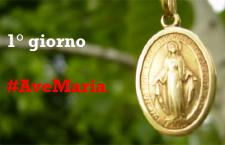 Novena alla Medaglia Miracolosa per chiedere grazie alla Santa Vergine (1° giorno)