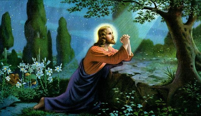 jesus-praying-in-gethsemane