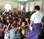 Distrutta dalle bombe la chiesa di San Francesco Saverio in Myanmar
