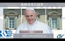 Angelus con Papa Francesco. Domenica 1 Gennaio 2017 LIVE TV h.12.00