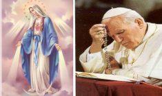 La Preghiera di Giovanni Paolo II dedicata all'Immacolata Concezione