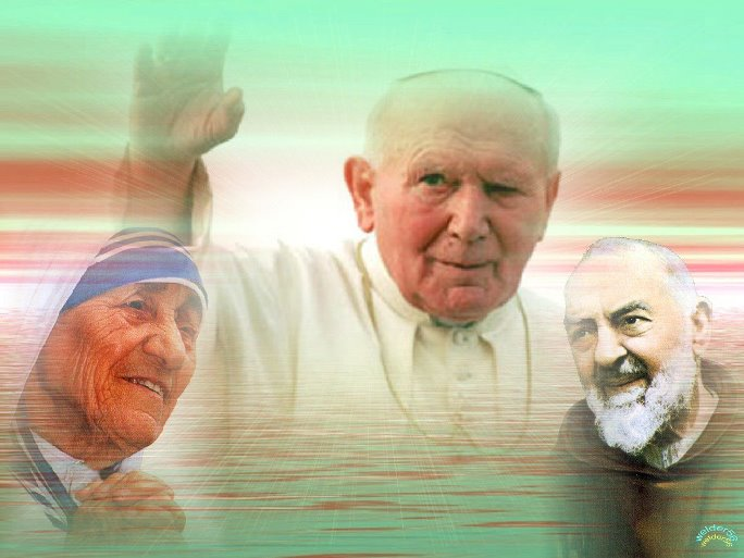 sofferenza dei tre santi