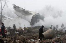 Kirghizistan: precipita aereo, almeno 37 morti. Preghiamo per loro!
