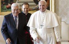 Papa Francesco ha incontrato il presidente della Palestina. Un incontro nel segno della pace per il Medio Oriente