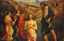 Vangelo (8 Gennaio) Appena battezzato, Gesù vide lo Spirito di Dio venire su di lui