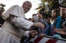 La grande attesa a Setteville (Guidonia, vicino Roma) per la visita di Papa Francesco nel pomeriggio