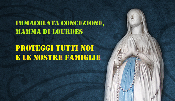 Madonna di Lourdes, prega per noi