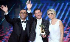Francesco Gabbani conquista Sanremo e lancia il 'tormentone': «Non me l'aspettavo»