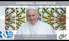 Udienza Generale con Papa Francesco. Mercoledì 22 febbraio 2017 REPLAY TV